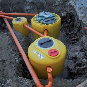 Impianti di depurazione acque e fognature